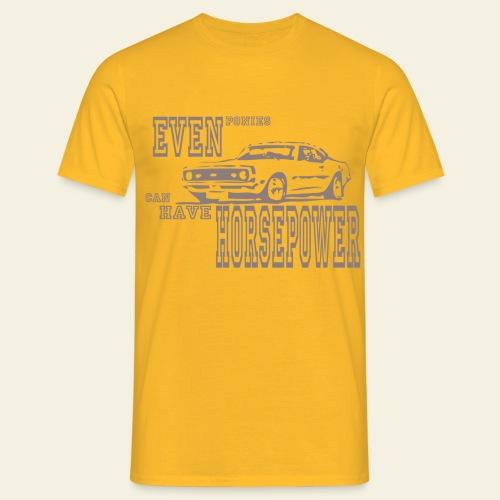 68 camaro gray - Herre-T-shirt