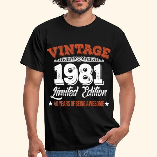 40. Geburtstag Geschenkidee Geburtstagsgeschenk - Männer T-Shirt