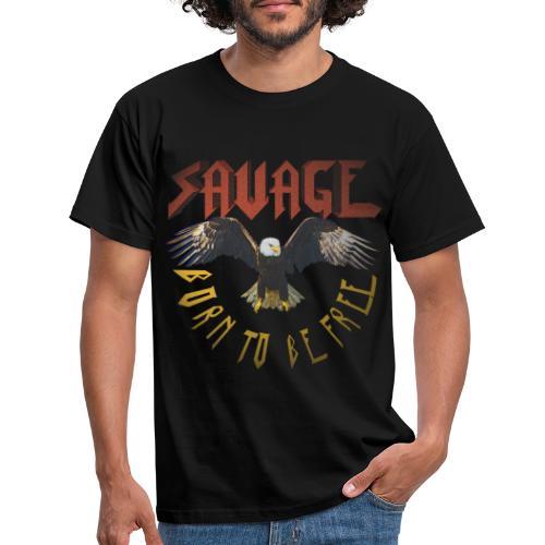 vintage eagle - Camiseta hombre