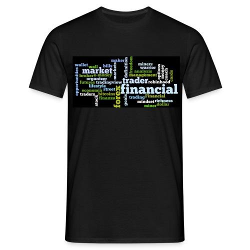 Designed T-Shirt for Traders Forex Stock Market - Maglietta da uomo