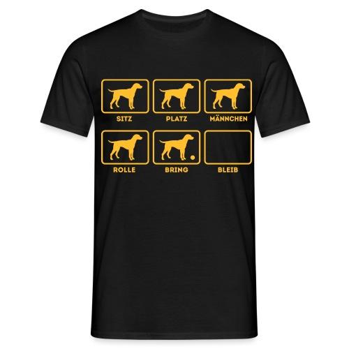 Für alle Hundebesitzer mit Humor - Männer T-Shirt