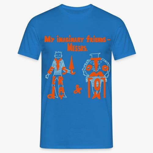 My imaginary friends T-shirt - Männer T-Shirt