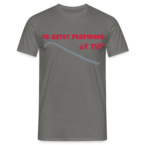 preparado palanca zombies - Camiseta hombre