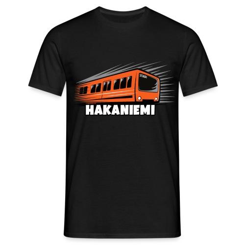 13- METRO HAKANIEMI - HELSINKI - LAHJATUOTTEET - Miesten t-paita