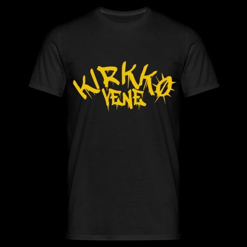 basic keltainen - Miesten t-paita