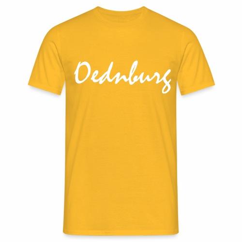 Oednburg Wit - Mannen T-shirt