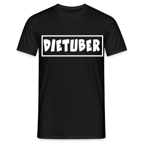 DieTuber Logo weiss - Männer T-Shirt