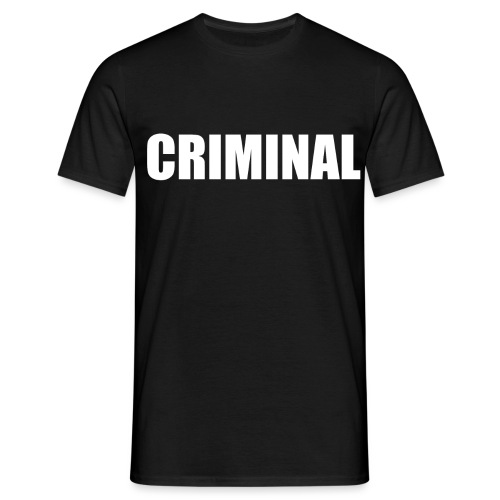 CRIMINAL - T-shirt Homme