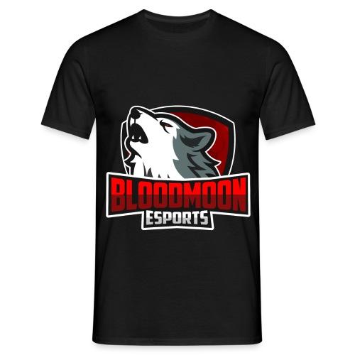 BloodMoon eSport Logo - Männer T-Shirt