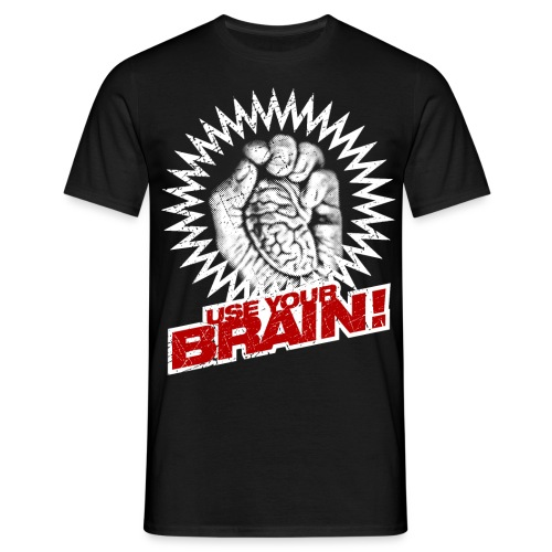 Use Your Brain! - Männer T-Shirt