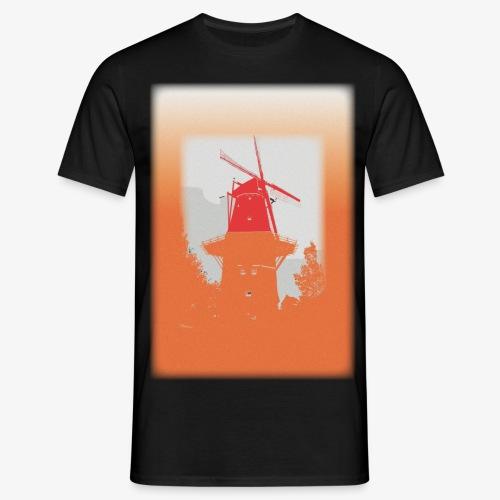 Mills orange - Maglietta da uomo