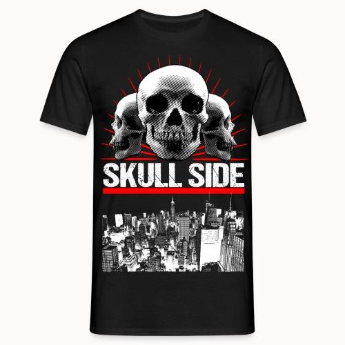 skull side city - Männer T-Shirt