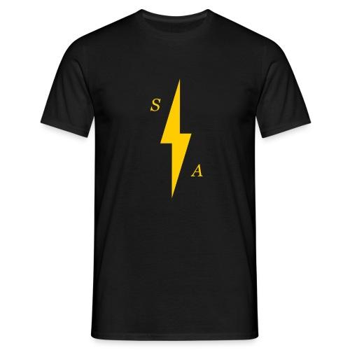 Yellow SA Bolt - Men's T-Shirt