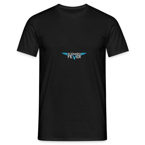 scenario fever logo png - Männer T-Shirt