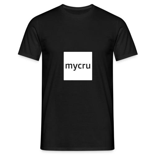 mycru logo - Men's T-Shirt