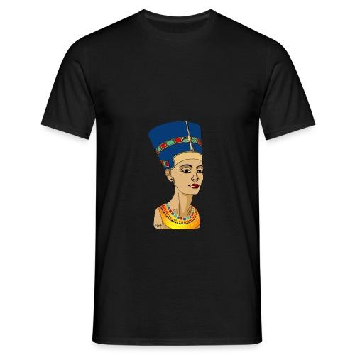 Nofretete - Die Schöne, die da kommt - Männer T-Shirt