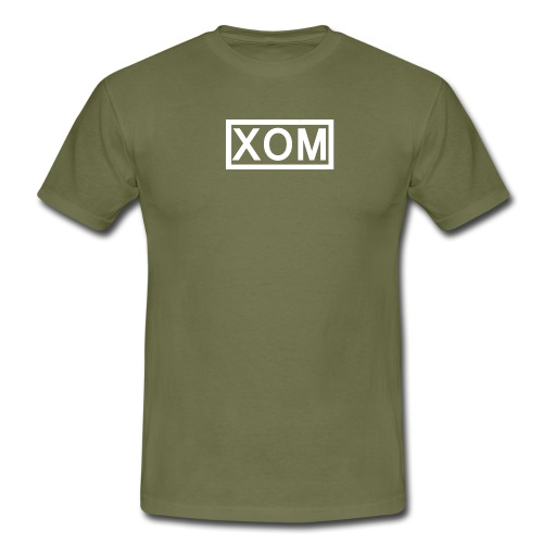 white xom png - Men's T-Shirt