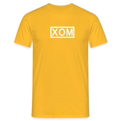 white xom png - Men's T-Shirt