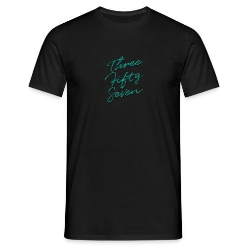 The 'Signature 2.0' by Three Fifty Seven - Men's T-Shirt