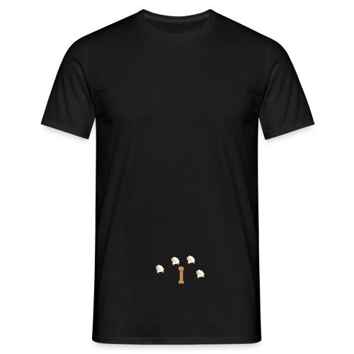 springende schaapjes - Mannen T-shirt