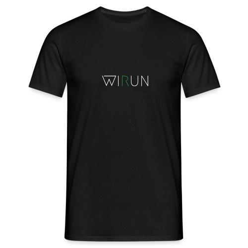 WIRUN gReen - Mannen T-shirt