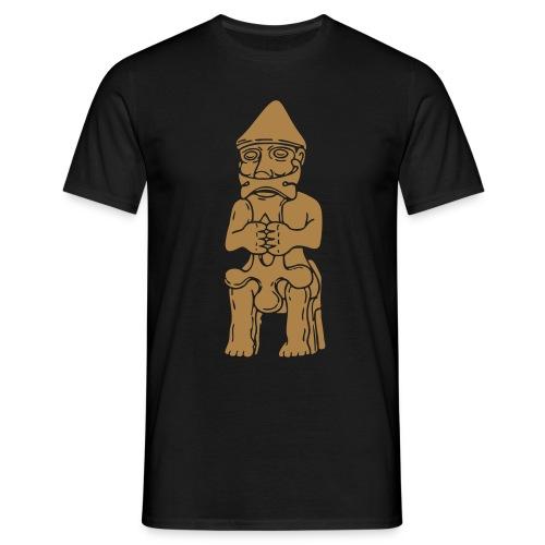 Thor Statuette Island 10tes jahrhdt. - Männer T-Shirt