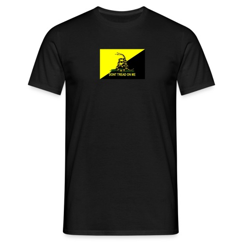 Ancap Gadsden flag small - T-shirt herr