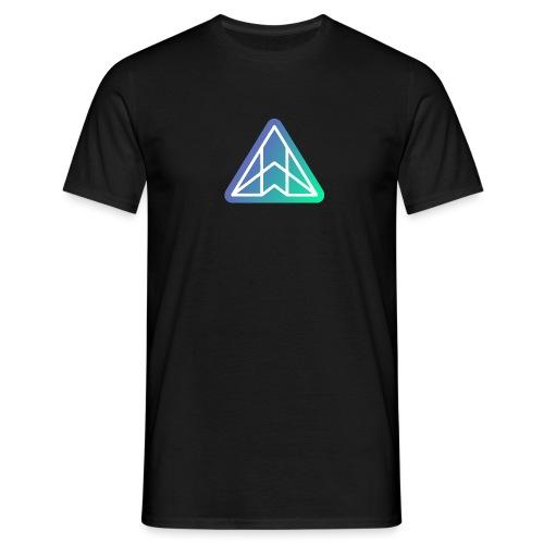 Logo - White on gradient - Men's T-Shirt