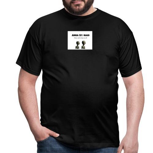 AREA 51 RAID - T-shirt herr