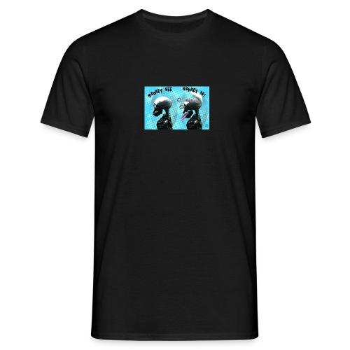 Monkey See Monkey Do! - Men's T-Shirt