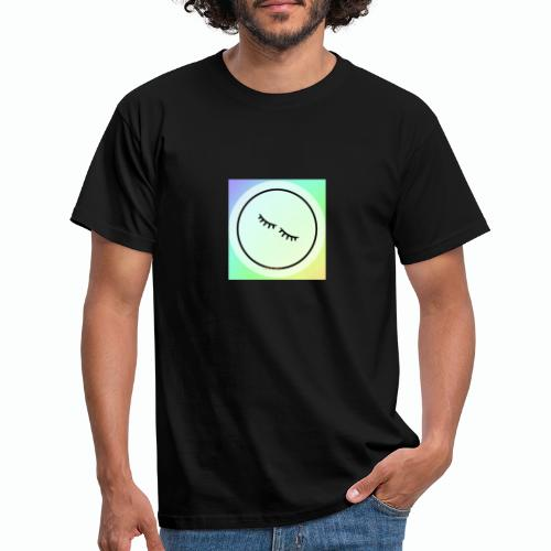 Regenbogen Augen - Männer T-Shirt