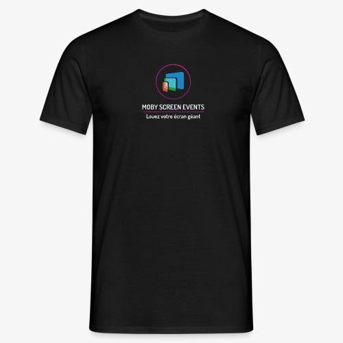 LOGO-MobyScreen+Enseigne- - T-shirt Homme