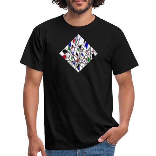 Broken Church Glass - Mannen T-shirt