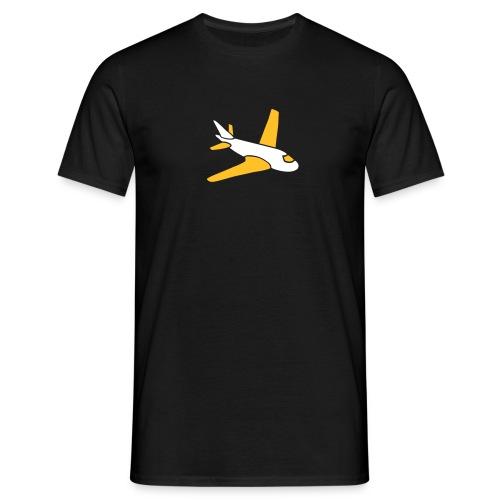 airplanes jet sky freedom aircraft flying glider - Männer T-Shirt
