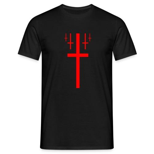cross christus god jesus - Men's T-Shirt