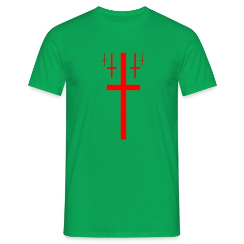 cross christus god jesus - Men's T-Shirt