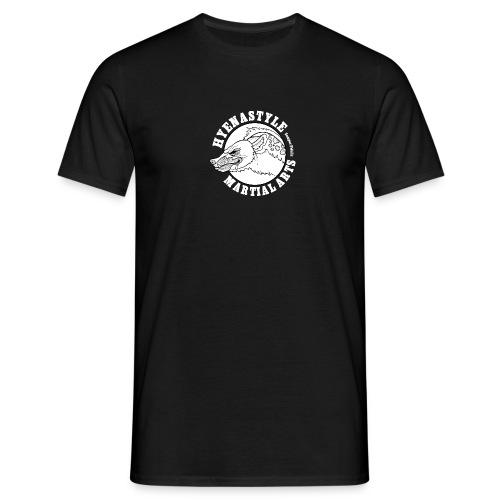 Whitelogo gif - Männer T-Shirt
