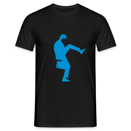 cleese walk black - Men's T-Shirt