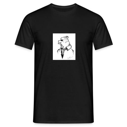 InkedThe Dog style bak LI - Camiseta hombre