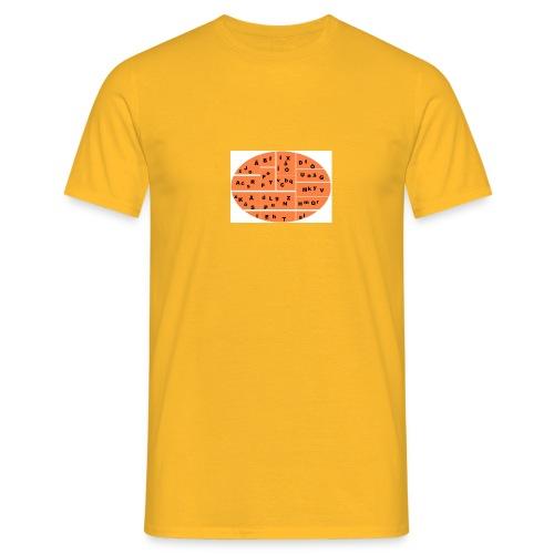 alfabetet - T-shirt herr