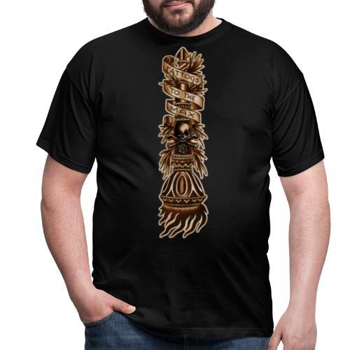 Torch Fackel Tattoos to the Max - Männer T-Shirt