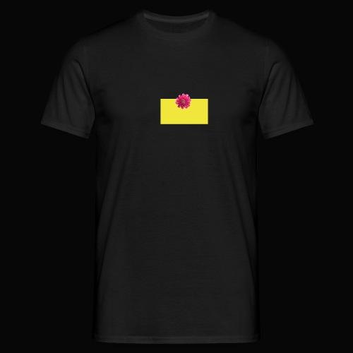 flower - T-skjorte for menn