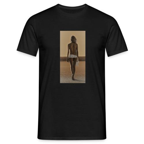 Hot Summer - Mannen T-shirt