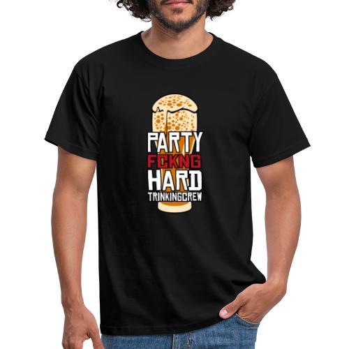 Partyhard Trinking Crew - Männer T-Shirt