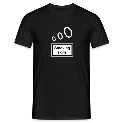 Smoking skills - Men's T-Shirt