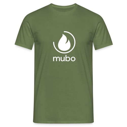 mubo logo - Men's T-Shirt