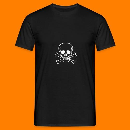 skull and cross bones WOB - Men's T-Shirt