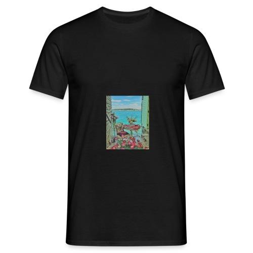 Romantic look - mit diesem Outfit gelingt alles! - Männer T-Shirt