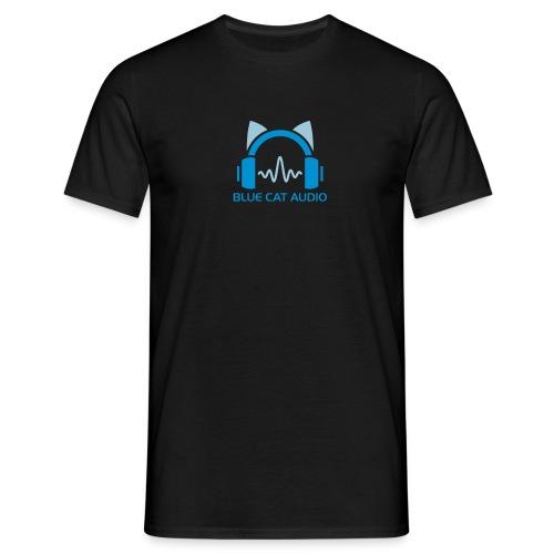 Logo+Name No Font - Men's T-Shirt