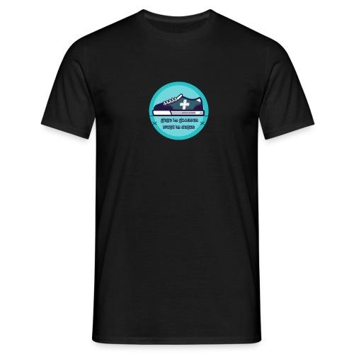 Gehe im Glauben nicht im Sehen - Männer T-Shirt